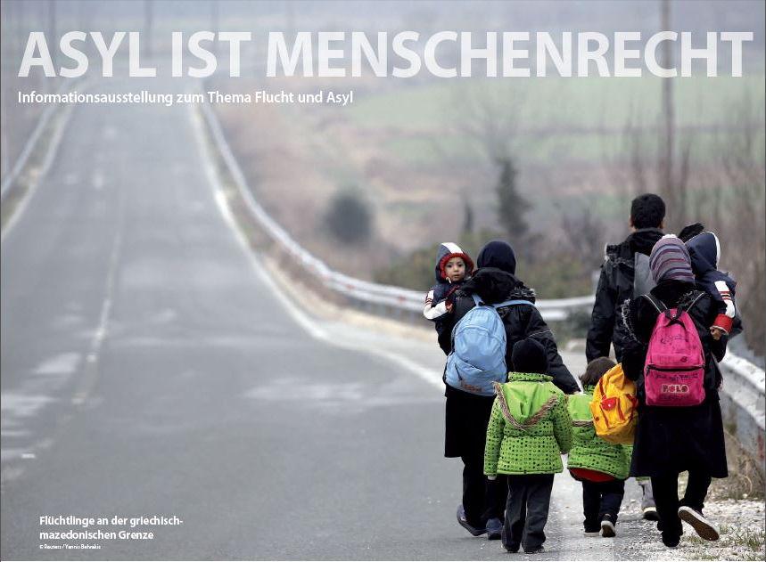 Ausstellung: Asyl ist Menschenrecht – Teil 2