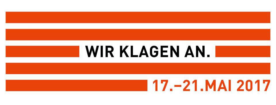 NSU-TRIBUNAL Wann? 17.-21. Mai 2017 Wo? Schauspiel Köln