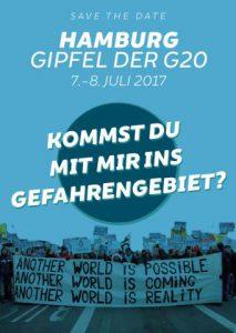 Sommer 2017: G20-Gipfel Hamburg