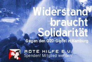 G20: Spenden gegen Repression!